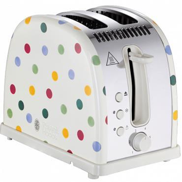 Russell Hobbs Emma Polka Dot 2-Slice Toaster