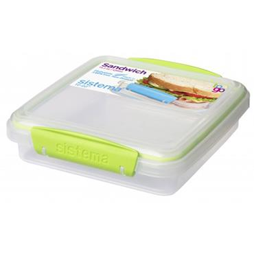 Sistema Assorted To Go Sandwich Box 450ml