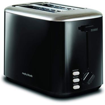 Morphy Richards Equip 2 Slice Toaster Black