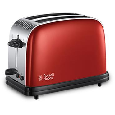 Rusell Hobbs Colours Plus Red Toaster