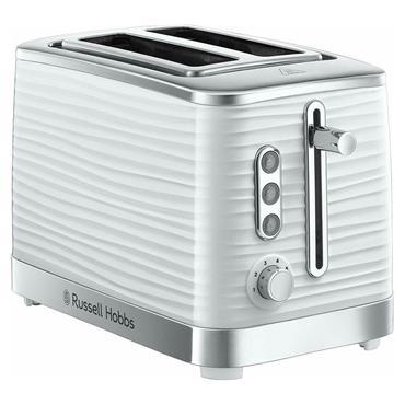 Russell Hobbs Inspire 2-Slice White Toaster