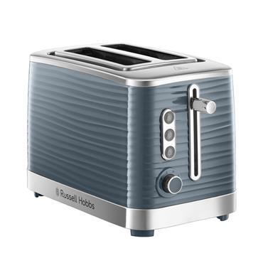 Russell Hobbs Inspire Grey 2 Slice Toaster