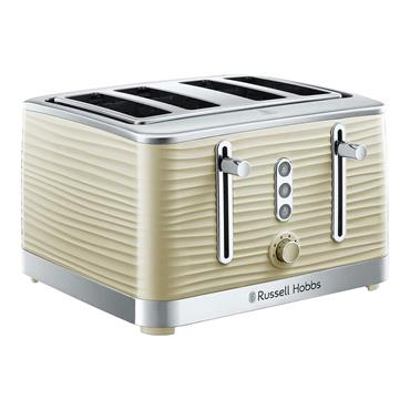 Russell Hobbs Inspire Cream 4-Slice Toaster