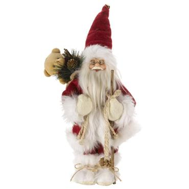 Inlit Father Christmas Red