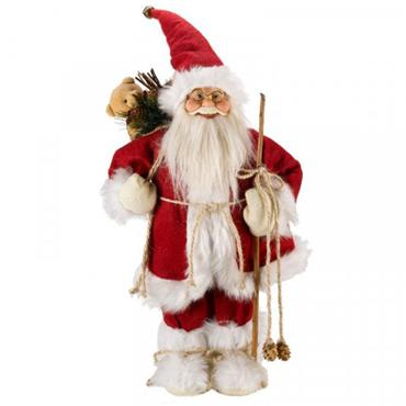 Inlit Father Christmas Red Large