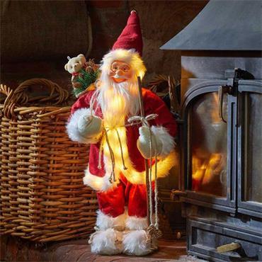 Smart Garden Inlit Father Christmas - Red Jumbo