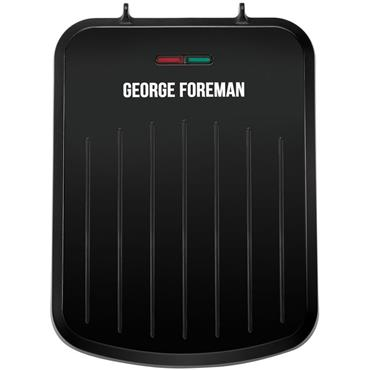 George Foreman Small Fit Health Grill Black