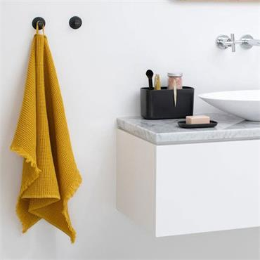 Brabantia Towel Hook Set 2 Dark Grey