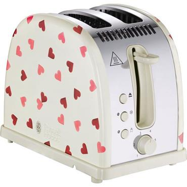 Emma Bridgewater Love Hearts 2 Slice Toaster