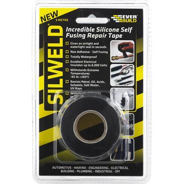 Everbuild Silweld Repair Tape Black