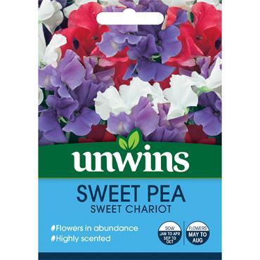 Unwins Sweet Pea Sweet Chariot Seeds