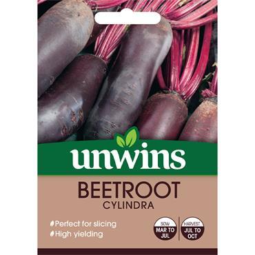 Unwins Beetroot Long Cylindra Seeds