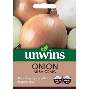 Unwins Onion Ailsa Craig Seeds