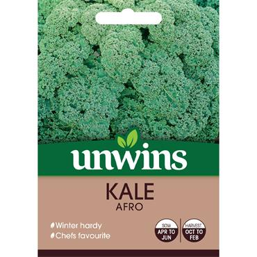 Unwins Kale Afro Seeds