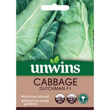 Unwins Cabbage Dutchman Seeds