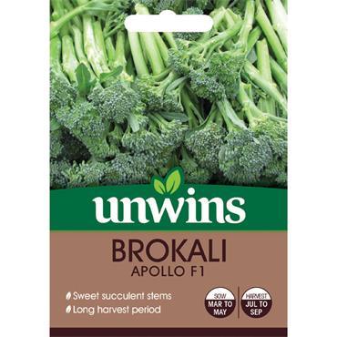 Unwins Brokali Apollo Seeds