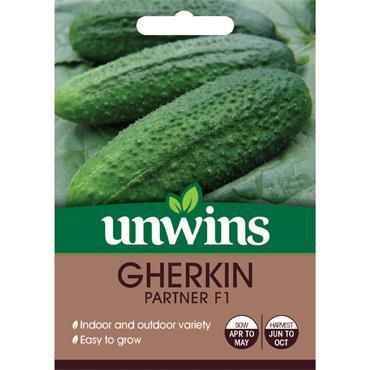 Unwins Gherkin Partner Seeds