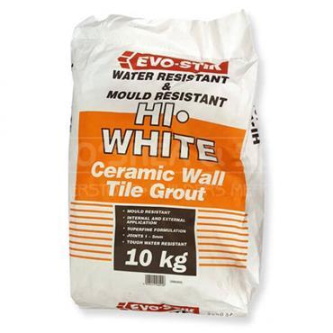 Evo-Stick Flexible Hi White Grout 10kg