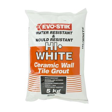 Evo-Stick Hi White Flex Anti Bacterial Grout 5kg