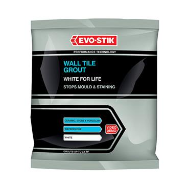 Evo-Stick White Wall Grout 500g