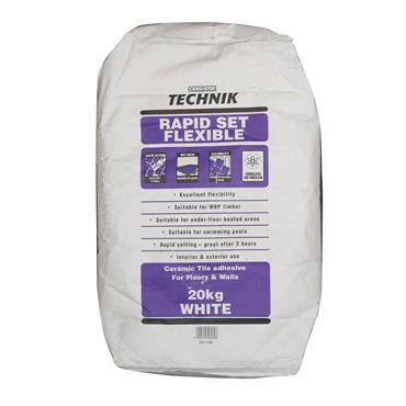 Evo-Stick Technik Rapid Set Flexible Adhesive White 20kg