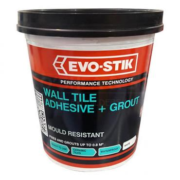 Evo-Stick Mould Resistant Wall Tile Adhesive & Grout 1L