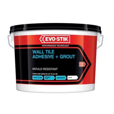 Evo-Stick Mould Resistant Wall Tile Adhesive & Grout 5L