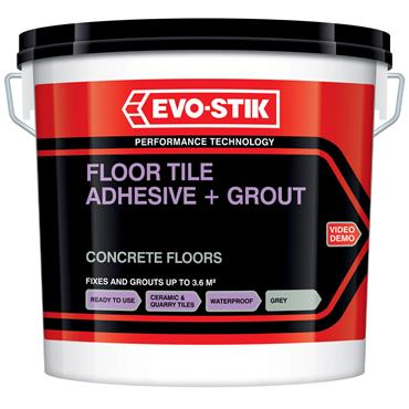 Evo-Stick Concrete Floor Tile Adhesive / Grout 10L