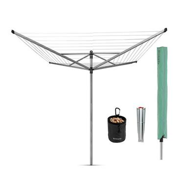 Brabantia 50m Lift-O-Matic Rotary Airer Package