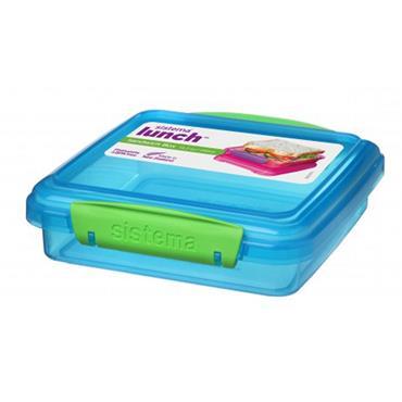 Sistema Assorted Lunch Sandwich Box 450ml