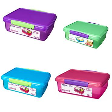 Sistema Assorted Itsy Bitsy Pack 2L