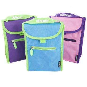Sistema Assorted Small Fold Up Lunch Bag
