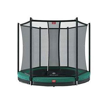 Berg Favorit In Ground 330 Green & Safety Net Trampoline