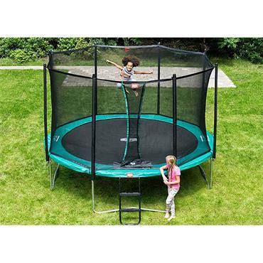 Berg Favorit Regular 330 Green & Safety Net Trampoline