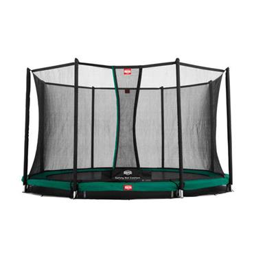 Berg Favorit In Ground 430  14 FT Trampoline including Safety Net .