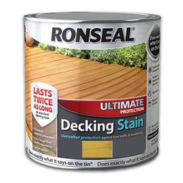 Ronseal Ultimate Decking Stain Natural Pine 2.5L