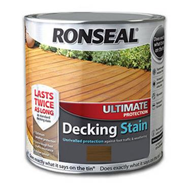 Ronseal Ultimate Decking Stain Dark Oak 2.5L