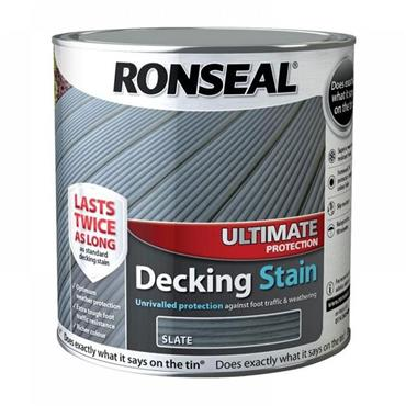 Ronseal Ultimate Decking Stain Slate 2.5L