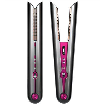Dyson Corrale Gift Edition Cordless Hair Straightener & Styling Set Black Nickel / Fuchsia
