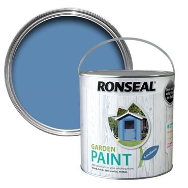 Ronseal Garden Paint Cornflower 250ml