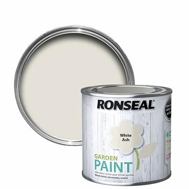 Ronseal Garden Paint White Ash 250ml