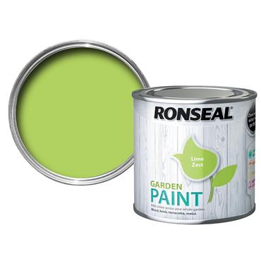 Ronseal Garden Paint Lime Zest 250ml