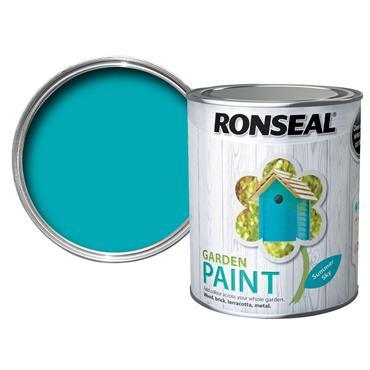 Ronseal Garden Paint Summer Sky 250ml