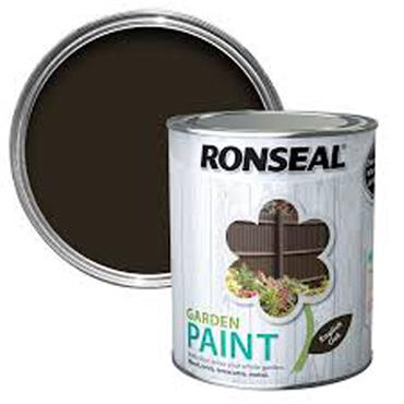 Ronseal Garden Paint English Oak 750ml