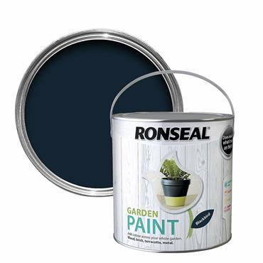 Ronseal Garden Paint Blackbird 750ml