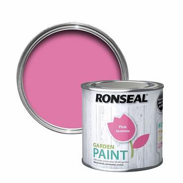 Ronseal Garden Paint Pink Jasmine 750ml