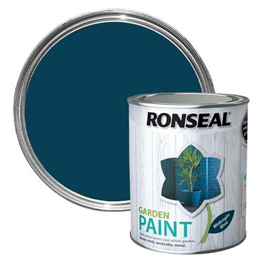 Ronseal Garden Paint Midnight Blue 750ml
