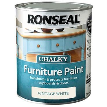 Ronseal Chalk Paint Vintage White 750ml