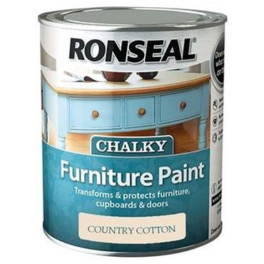 Ronseal Chalk Paint Country Cream 750ml