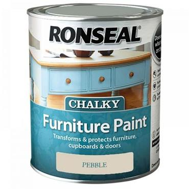 Ronseal Chalk Paint Pebble 750ml